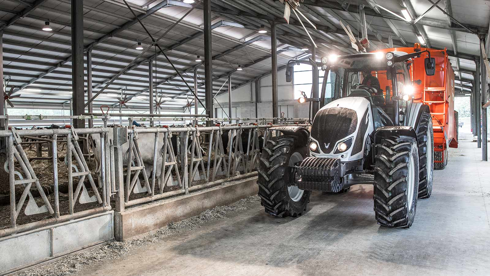 Valtra A Series Feeding Tractor